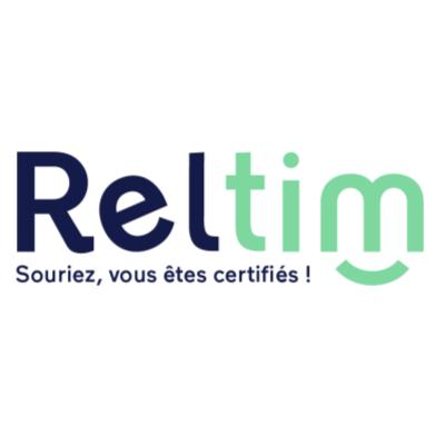 Logo Reltim, partenaire BlueKanGo sur la certification Qualiopi